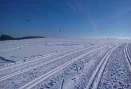 Snowkiting na Novoměstsku
