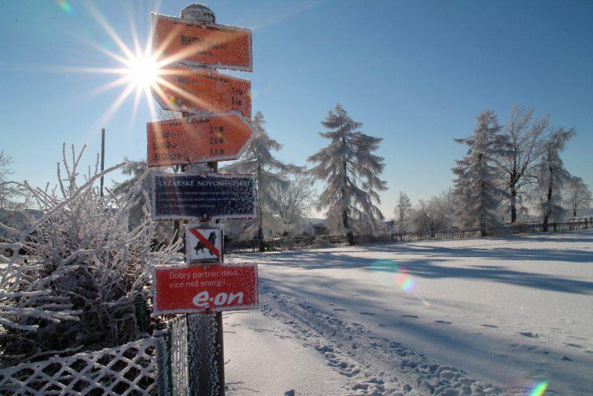 Rozhovor o lyžování na Novoměstsku