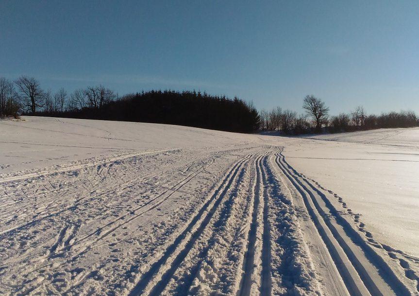 Sníh napadl, ale….