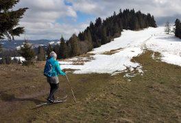Sněhové podmínky na Vysočině lyžaře nepotěší