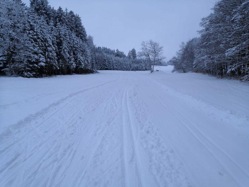 Sobotní lyžování